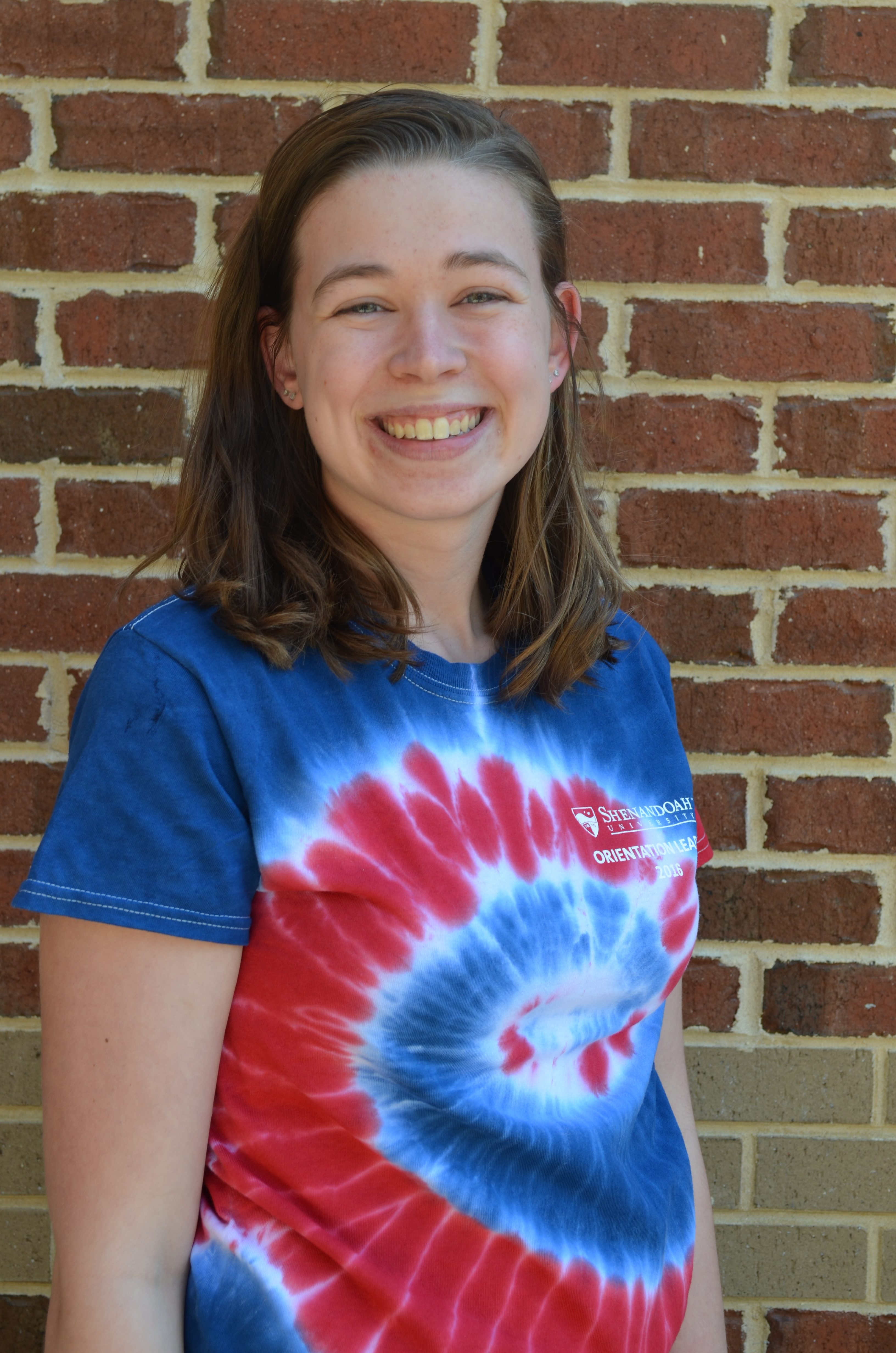 orientation leaders shenandoah university campus life annie griggs