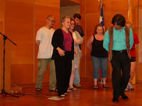 Dance class in Chile