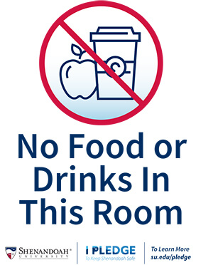 No Food Or Drinks Allowed in This Room
