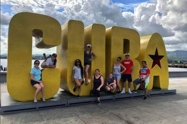 Photo from a Shenandoah University Global Experiential Learning trip to Cuba during summer 2018.