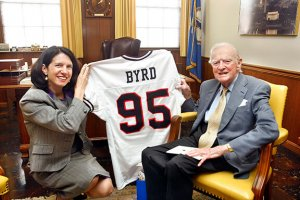 IN MEMORIAM:  SENATOR HARRY F. BYRD, JR. – A Dear Friend and Community Leader
