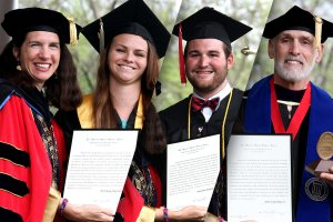 Algernon Sydney Sullivan Awards Presented During Commencement
