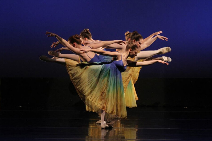 Elegance and Athleticism Take Stage in  Shenandoah Conservatory's Fall Dance Concert