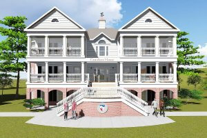 Rendering of Caruthers House
