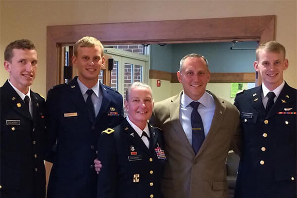 Readiness & Luck Brig. Gen. Lisa Doumont '95 Enhances Career and Education with Leadership Doctoral Studies