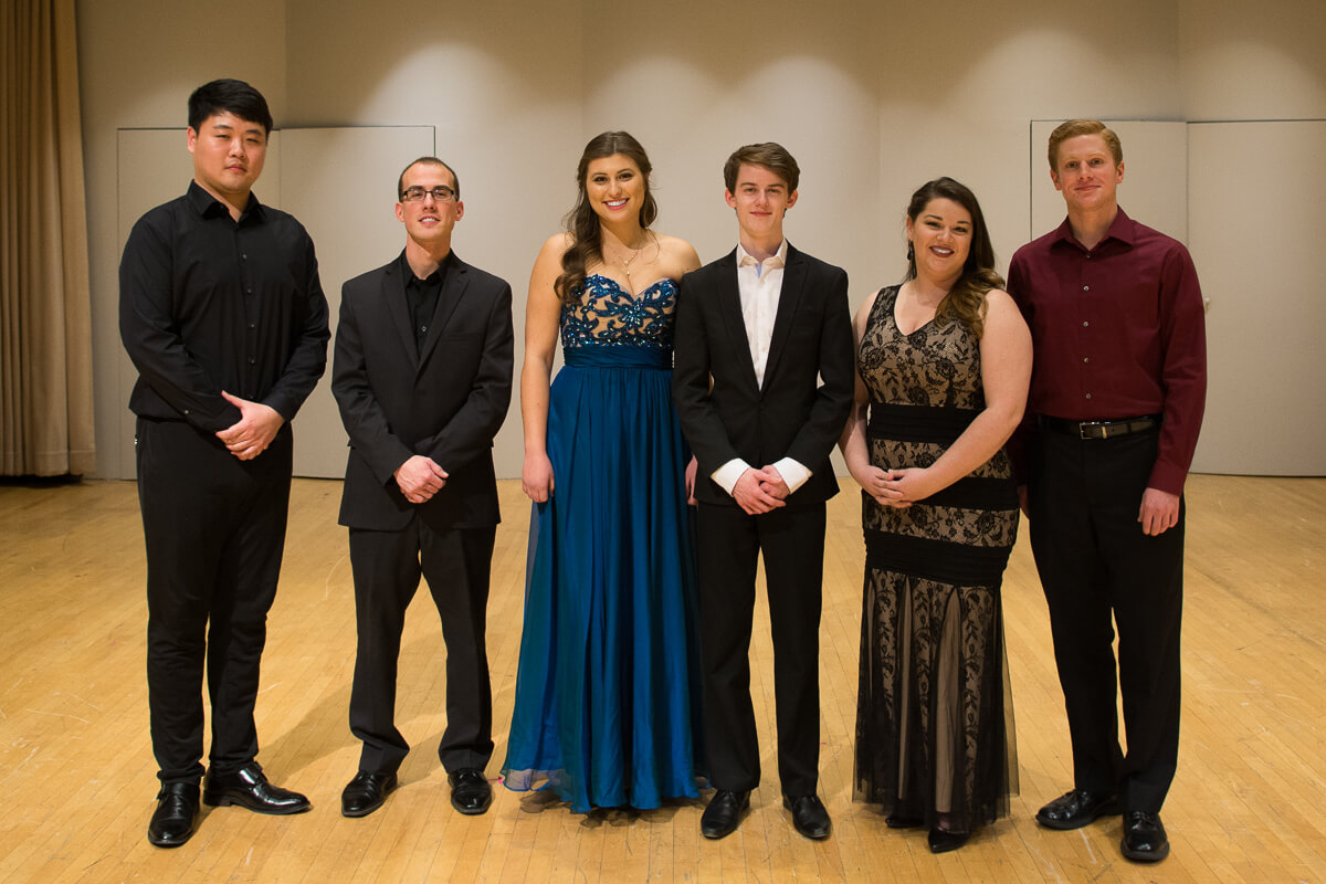 Shenandoah Conservatory Announces Winners of the 2017 Student Soloists Competition