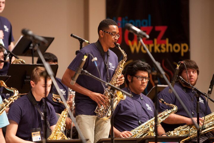 National Jazz Workshop Events and Performances  Welcome Hundreds of Participants to Shenandoah Conservatory Features big bands, improvisational courses, masterclasses and jam sessions, July 15-20