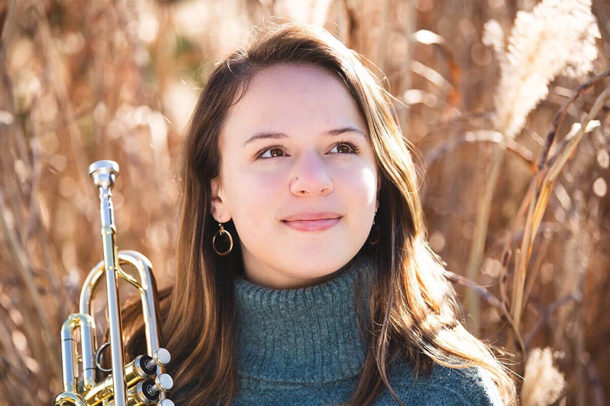 Niess '20 Selected to Compete in National Trumpet Solo Competition