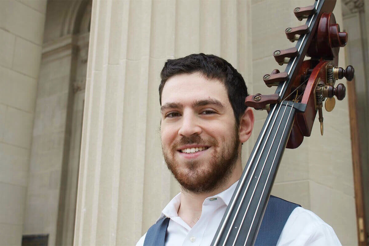 Bassist Gross '20 Performs with Ann Arbor Symphony