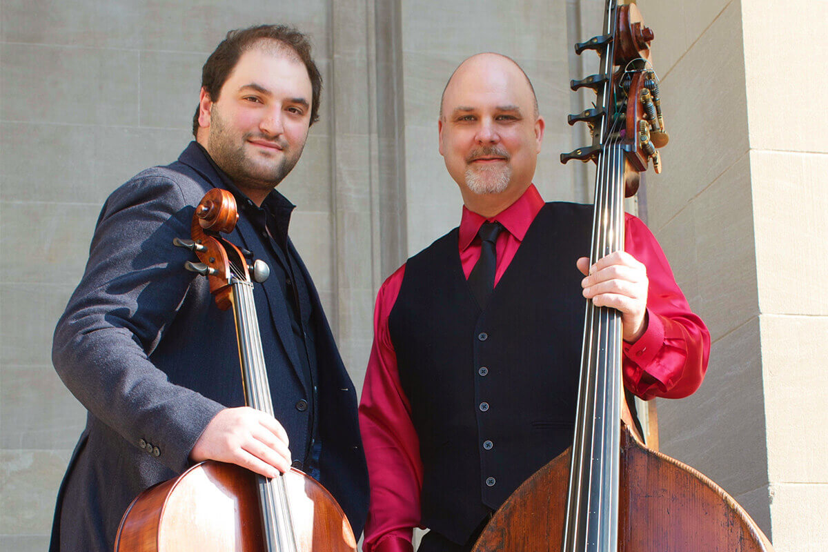 Schwarz and Stokes Perform at Carnegie Hall