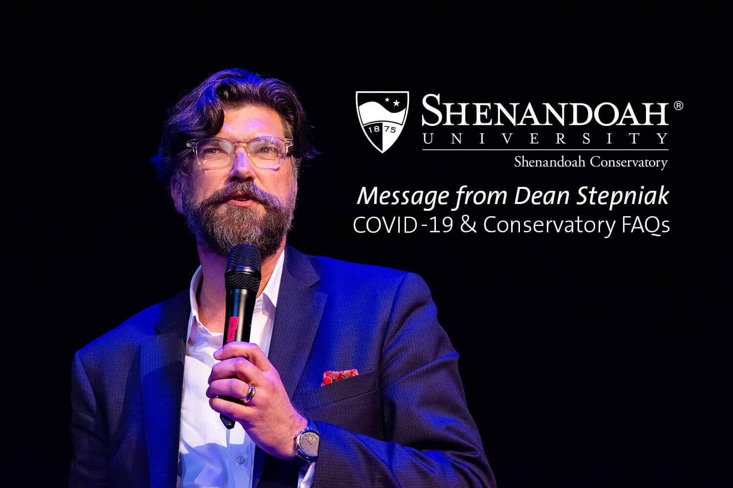 Message to Conservatory Students on COVID-19 from Dean Stepniak How am I going to take my conservatory classes online?