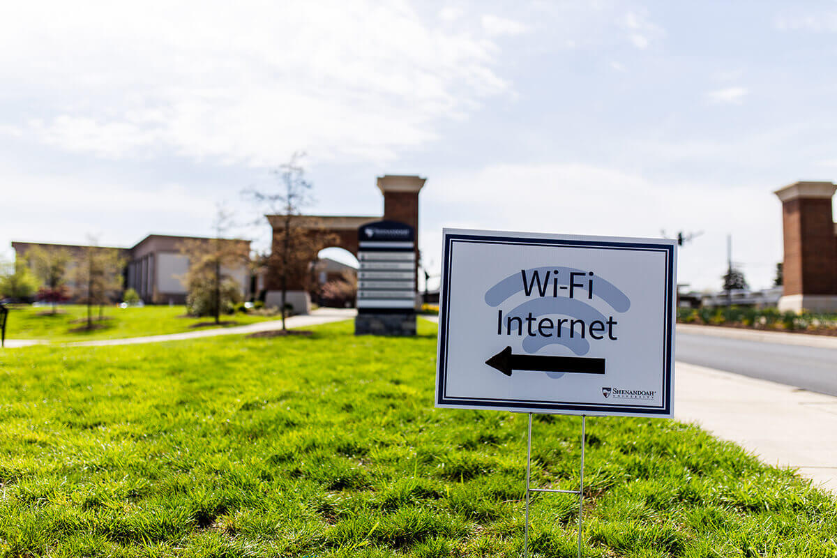 Shenandoah University Announces Wi-Fi Access to Those in Need SU-CommunityConnect wireless network available in certain parking lots