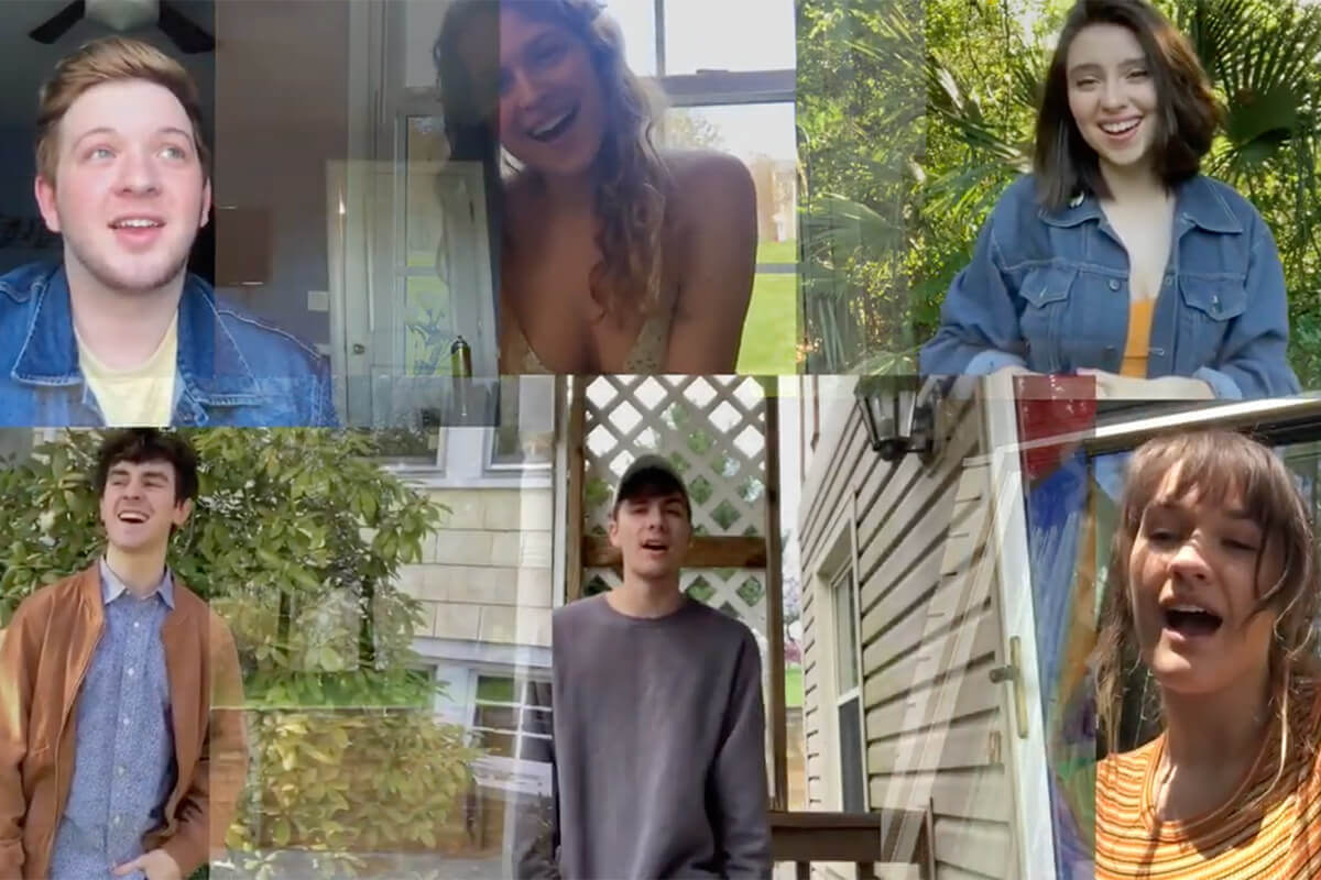 Musical Theatre Class of 2022 Creates 'Here Comes the Song' Music Video