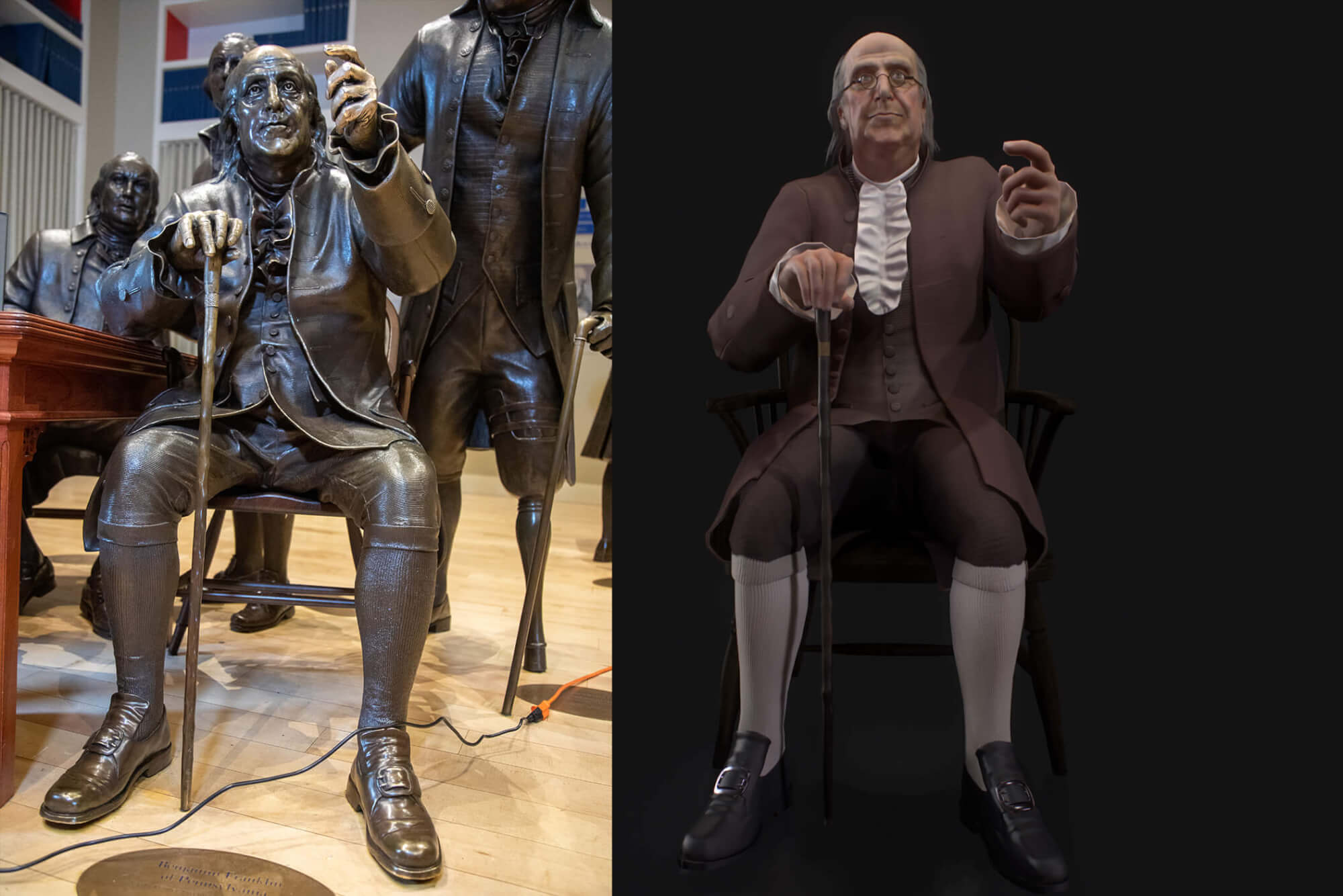 VR Project Pilot Launch Blends History, Technology Constitutional Convention Comes Alive Through Virtual Debates