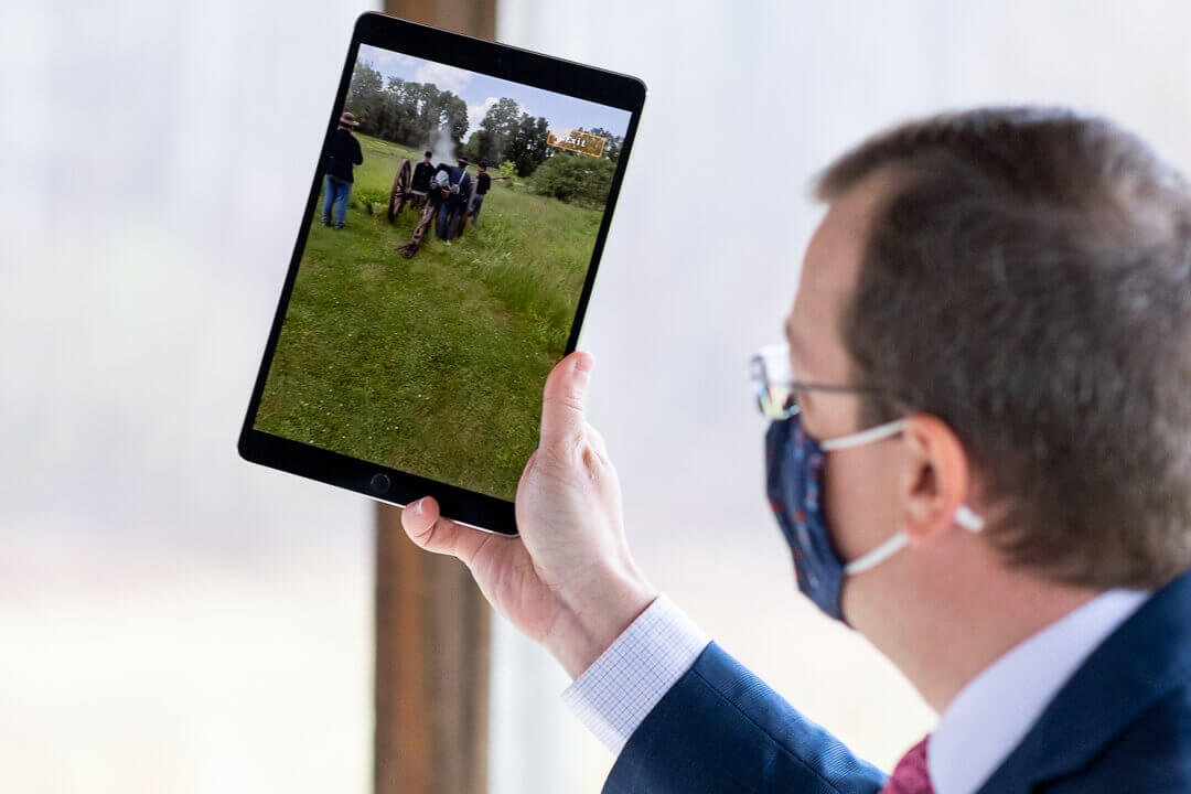 App Uses Augmented Reality To Recreate History 'Through Their Eyes' Provides In-Depth Look at Battle of Cool Spring