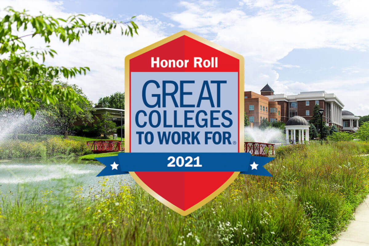 Shenandoah University Receives Great Colleges to Work For Distinction Positive employee feedback earned the university a spot on the Honor Roll